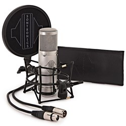 Sontronics STC3X 3-Pattern Condenser Microphone Plus Accessories Pack (Silver)