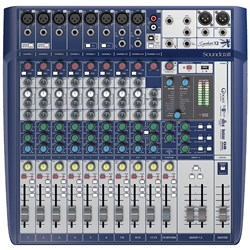Soundcraft Signature 12 Analog Mixing Console w/ USB & Lexicon Effects