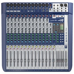 Soundcraft Signature 16 Analog Mixing Console w/ USB & Lexicon Effects