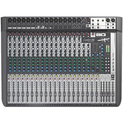 Soundcraft Signature 22MTK Analog Mixer w/ USB Multitrack Recording & Lexicon Effects
