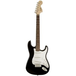 Fender Squier Affinity Stratocaster Electric Guitar (Black, w/ Rosewood Fretboard)