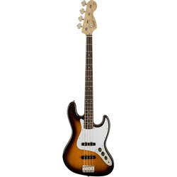 Squier Affinity Series Jazz Bass w/ Laurel Fingerboard (Brown Sunburst)