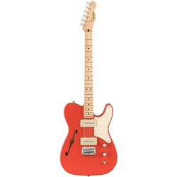 Squier Paranormal Cabronita Telecaster Thinline - Maple Fingerboard (Fiesta Red)