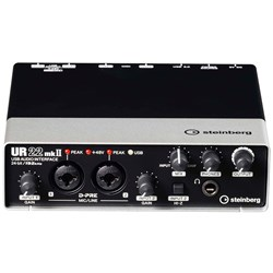 Steinberg UR22mkII USB & iOS Audio & MIDI Interface w/ Cubase LE & Cubase AI