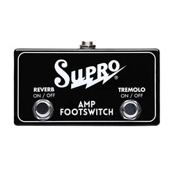 Supro Tremolo & Reverb Footswitch