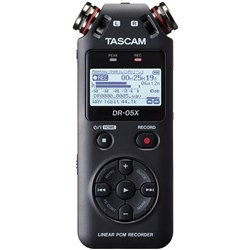 Tascam DR05X Stereo Handheld Digital Audio Recorder & USB Audio Interface