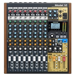 Tascam Model 12 Multitrack Recorder w/ Integrated USB Audio Interface & Analog Mixer