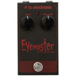 TC Electronic Eyemaster Metal Distortion Stompbox