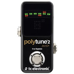 TC Electronic Polytune Mini Poly-Chromatic Guitar Tuner (Black)