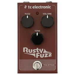 TC Electronic Rusty Fuzz Stompbox