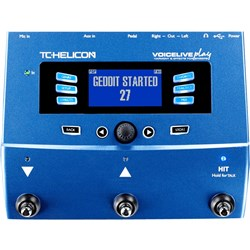TC Helicon VoiceLive Play 3-Button Vocal Effects Stompbox w/ Looping