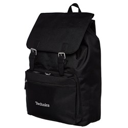 Technics Vinyl Laptop Backpack (Black w/ Silver Lettering)