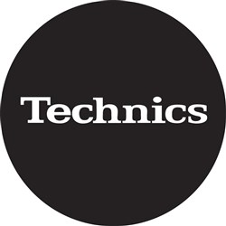 Technics White Logo Slipmats (Pair)