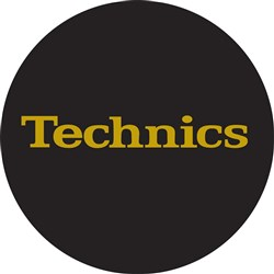 Technics Gold Logo Slipmats (Pair)
