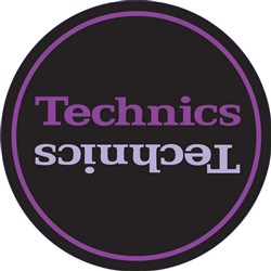Technics Limited Edition Purple Slipmat (Pair)
