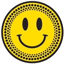 Technics Smiley Platter Slipmats (Pair)