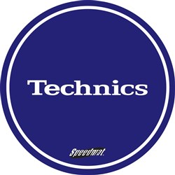 Technics Speedmat Blue Slipmats (Pair)