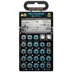Teenage Engineering Pocket Operator PO128 Mega Man Special Edition