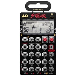 Teenage Engineering Pocket Operator PO133 Street Fighter Special Edition