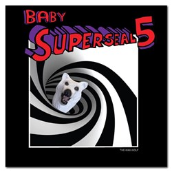 "Thud Rumble 7"" Baby Super Seal 5 - The Wax Wolf (Giant Robo VAC Right Wing)"