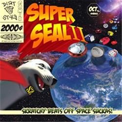 "Thud Rumble 12"" Superseal 2: Skratchy Beats Off Space Suckas! (Blood Orange)"