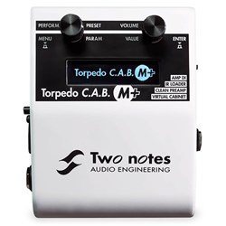 Two Notes C.A.B. M Amp DI IR Loader & Virtual Cabinet