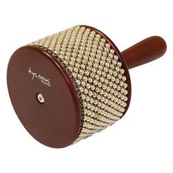 Tycoon Percussion TSA-L-BR Large Cabasa (Brown)