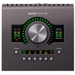 Universal Audio Apollo Twin X Duo Audio Interface w/ Unison Preamps & UAD2 Processing