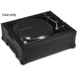 UDG Ultimate Flight Case for Multi Format Turntable w/ Trolley & Wheels (Black)