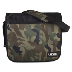 UDG Ultimate Courier Bag (Black Camo / Orange Inside)