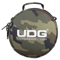 UDG Ultimate DIGI Headphone Bag (Black Camo / Orange Inside)