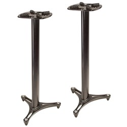 "Ultimate Support MS-90/45B Monitor Stand Pair 45"" (Black)"