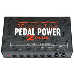 Voodoo Lab Pedal Power 2 PLUS 8 Outlet Isolated Pedal Power Supply
