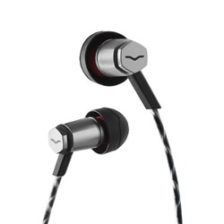 V-Moda Forza Metallo Sport Hybrid In-Ear iOS Headphones (Gunmetal Black)