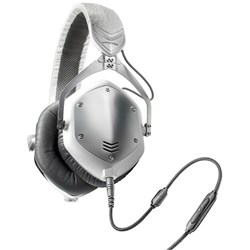 V-Moda Crossfade M100 Over-Ear Headphones (White Silver)