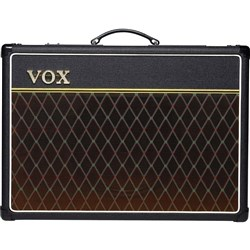 "Vox AC15C1 Custom All Tube Guitar Amp Combo w/ Single 12"" Celestion G12M Greenback (15W)"