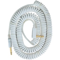 Vox VCC090 Vintage Coiled Cable - 9m (White)