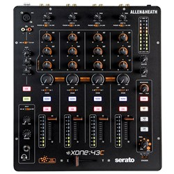 Allen & Heath Xone:43C Serato- Friendly 4 Channel DJ Mixer