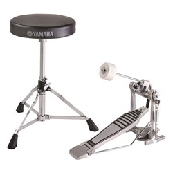 Yamaha FPDS2A Drum Stool & Foot Pedal Pack (DS550U & FP6110A)