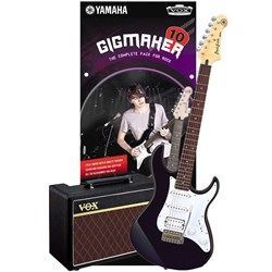 Yamaha Gigmaker 10 Electric Guitar Pack (Black)