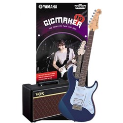 Yamaha Gigmaker 10 Electric Guitar Pack (Dark Blue Metallic)