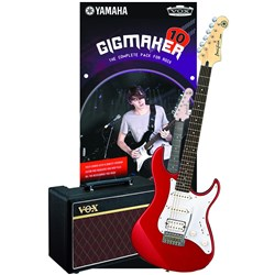 Yamaha Gigmaker 10 Electric Guitar Pack (Red Metallic)