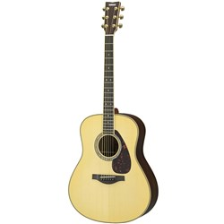 Yamaha LL16 ARE - Left-Hand All Solid Acoustic Guitar w/ Pickup (Natural) inc Hard Bag