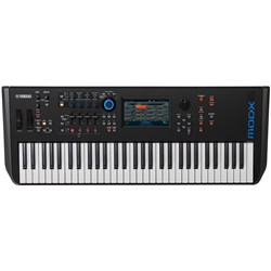 Yamaha MODX6 61-Key Synthesiser w/ AWM2 & FM-X Sound Engines