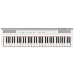 Yamaha P121 Portable Digital Piano (White)