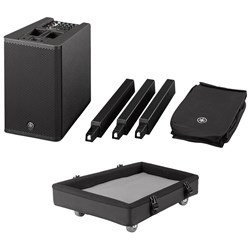 Yamaha STAGEPAS 1K All-In-One Portable PA System w/ Bonus Dolly