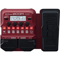 Zoom B1X FOUR Bass Multi-Effects Pedal w/ Expression Pedal