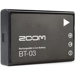 Zoom BT-03 Rechargeable Li-Ion Battery for Q8 Handy Video Recorder