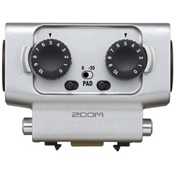 Zoom EXH6 Dual TRS / XLR Input Capsule for H5, H6 & F8