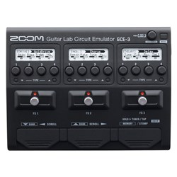 Zoom GCE-3 Guitar Lab Circuit Emulator USB Audio Interface w/ Guitar FX, Amps & Cabs